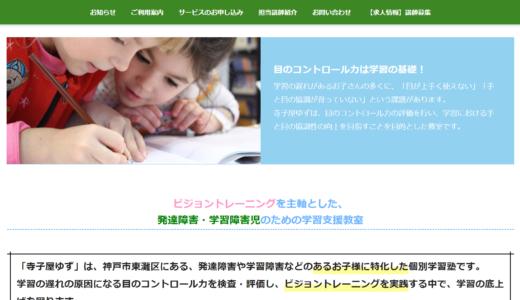 個別学習塾「寺子屋ゆず」では、目のコントロール力の検査とビジョントレーニングを行います